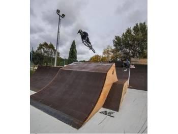 Skatepark du complexe Florian Aurélio de Martigues