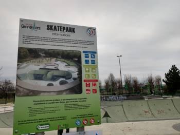 Skatepark de Gennevilliers-Parc des sévines