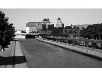 Piste cyclable du Canal de l'Ourcq