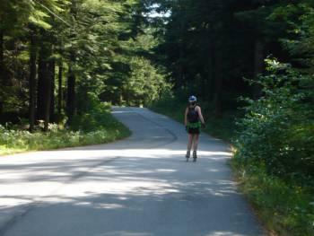 Lower seymour Paved trail
