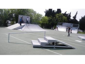 Skatepark du Fort Carré à Antibes