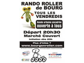 Rando roller populaire de Bourg-en-Bresse (01)