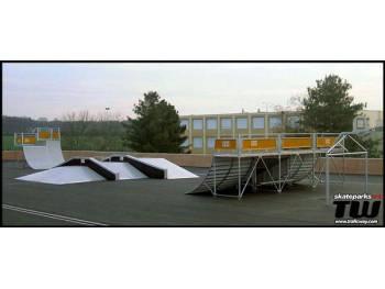 Skatepark au complexe de glisse de Montgeron