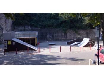 Skatepark de la colline Saint-Romain à Romans-sur-Isère
