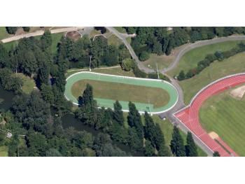 Piste de roller course du Mans