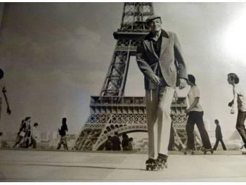Le Trocadéro, un haut lieu de la glisse à Paris