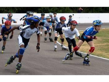 Piste de roller de vitesse de Landévant (Photo : CPAL Locminé)