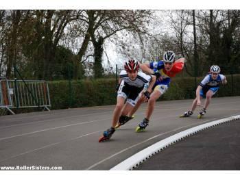 Piste de roller course de Sablé-sur-Sarthe (photo : rollersisters.com)
