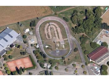 Vélodrome et piste de race de Strasbourg (67)