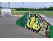 Anneau de vitesse et skatepark de Saint-Cosme-en-Vairais