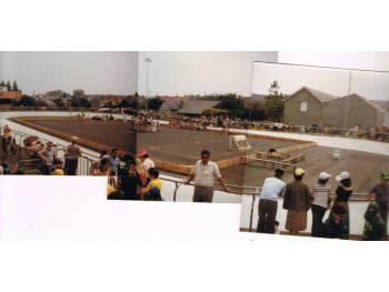 Piste de roller course de la Durantière à Nantes en 1977