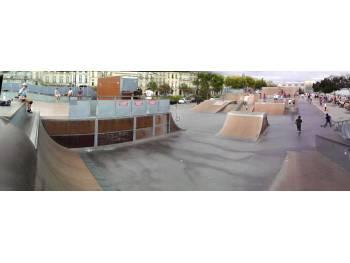 Skatepark du quai des Chartrons à Bordeaux (33)