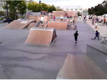 Skatepark des quais à Bordeaux