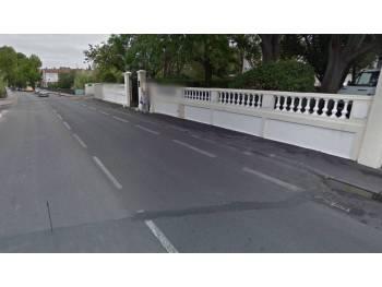 Bande cyclable des boulevards Berthelot à Orient à Montpellier