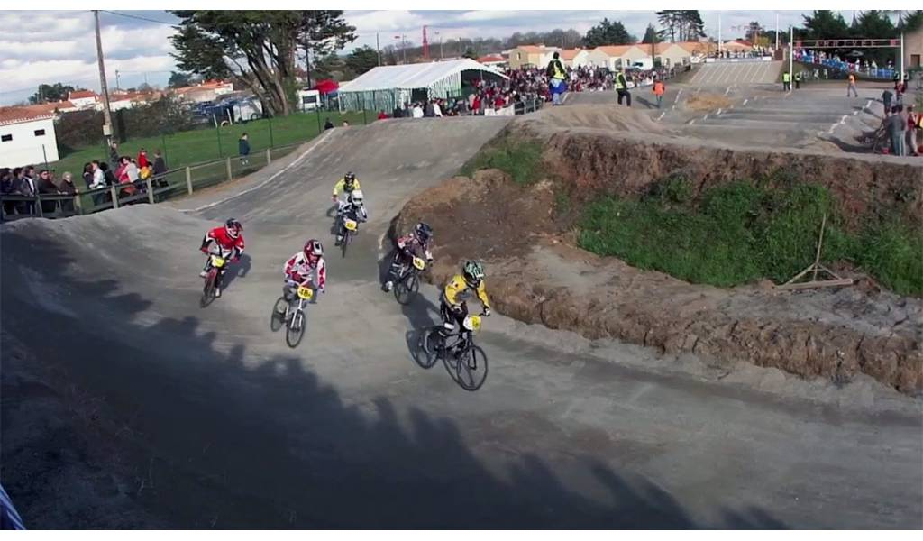 course bmx machecoul