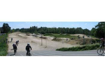 Piste de BMX race d'Avrillé (photo : ASA BMX)