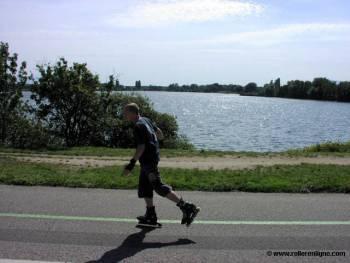 Piste cyclable du lac de Divonne-les-Bains
