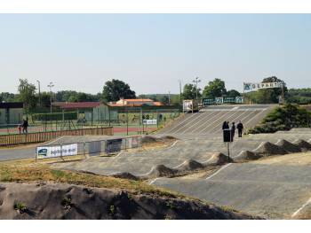 Piste de BMX race de la Chevrolière (photo : BMX Club La Chevrolière)