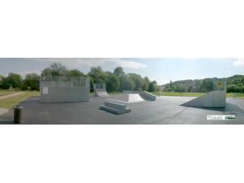 Skatepark de Lillebonne (photo : sports des villes)