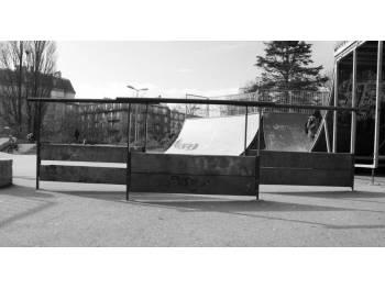 Skatepark de brest for Jardin kennedy brest