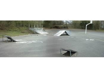 L'ancien skatepark de Gouesnou