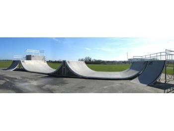 Skatepark de la Cousinerie-Tours