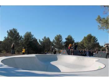 Skatepark de Ventabren (photo : Récréation Urbaine)