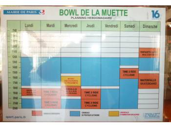 Bowl de la Muette à Paris (Photo : Cyril)