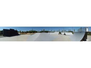 Skatepark de Sérignan (photo : D. Boedec)