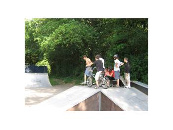 Skatepark de Legé (photo : mairie)