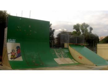 Skatepark de Saint Laurent du Var (fermé)