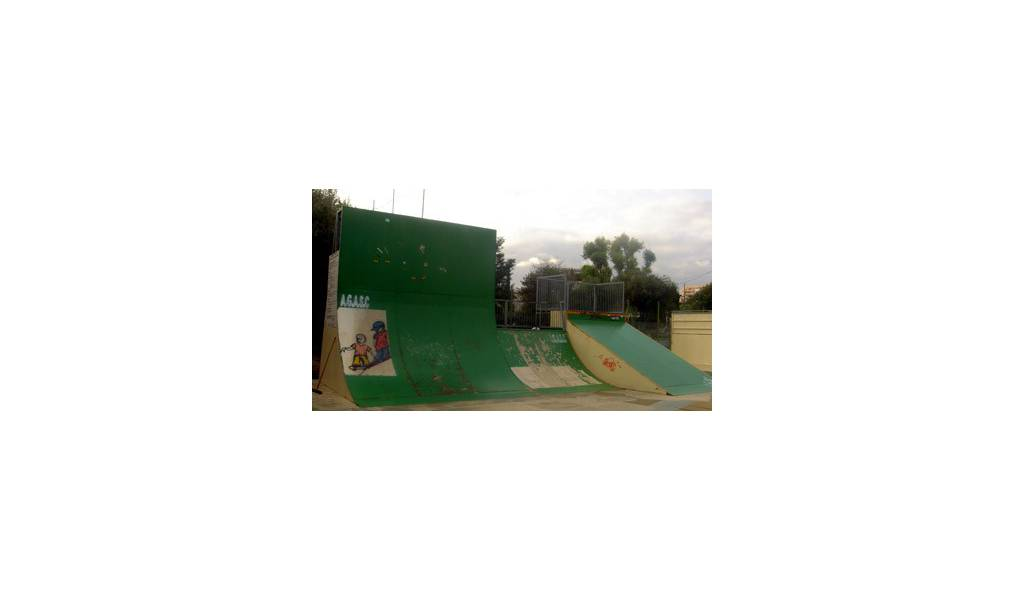 le skatepark de saint laurent du var ferm. Black Bedroom Furniture Sets. Home Design Ideas