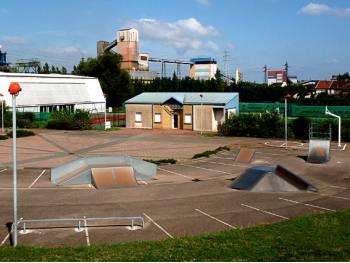 Skatepark de Serémange-Erzange (photo : mairie)