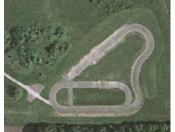 Anneau routier et piste de roller course de Loury