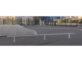 Skatepark et terrain de hockey de Aubergenvillle