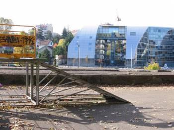 Skatepark Chamars à Besançon