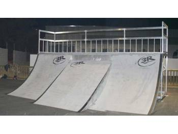 Skatepark de Grasse (photo : 3R Skateparks)