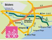 Le chemin du canal du Midi