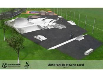 Skatepark de Saint-Genis-Laval
