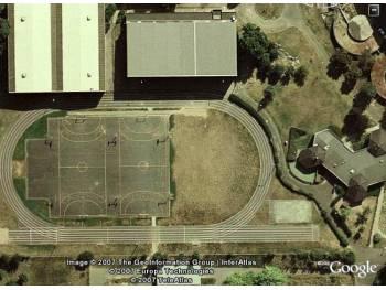 Piste d'athlétisme en dur de Saint-Michel-sur-Orge