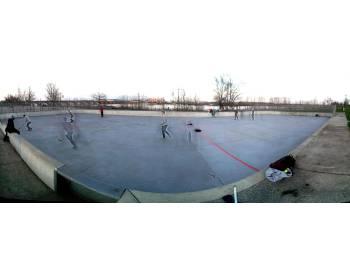 Terrain de hockey à Bordeaux