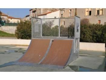 Skatepark de Sallelles-d'Aude