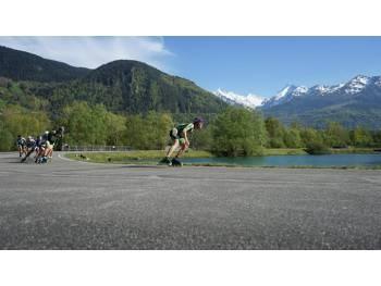 Skatepark et piste