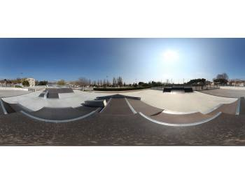 Skatepark de Castries (photo : J. Dufour)