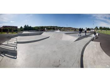 Skatepark de Saint-Genis-Laval (Zed Photographie)