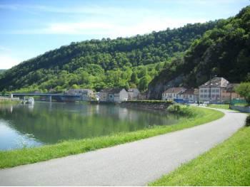 Voie verte de Besançon à Saint-Vit
