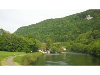 Voie verte de Besançon à Dole
