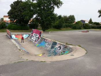 Skatepark et bowl de la Roche-sur-Yon (photo : Kepic)