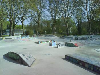 Skatepark / bowl de Metz