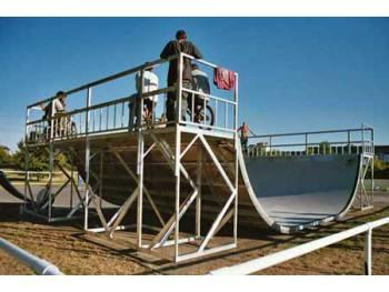 Skatepark de l'île Balzac à Tours